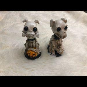 Set Of Skeleton Puppies/Dogs • Halloween